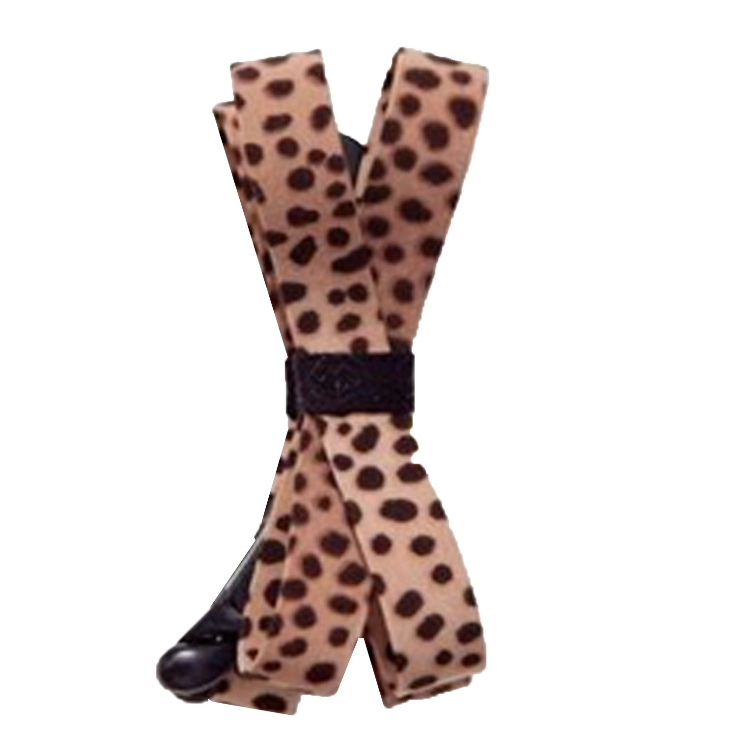 Leopard Hair Grip Clip Ponytail Holder - A012#