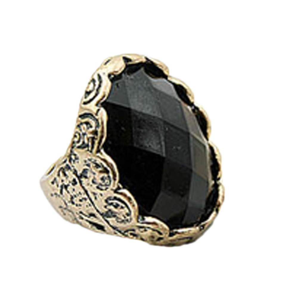 Accessories Ladies NEW Antique Diamante Rhinestone Ring