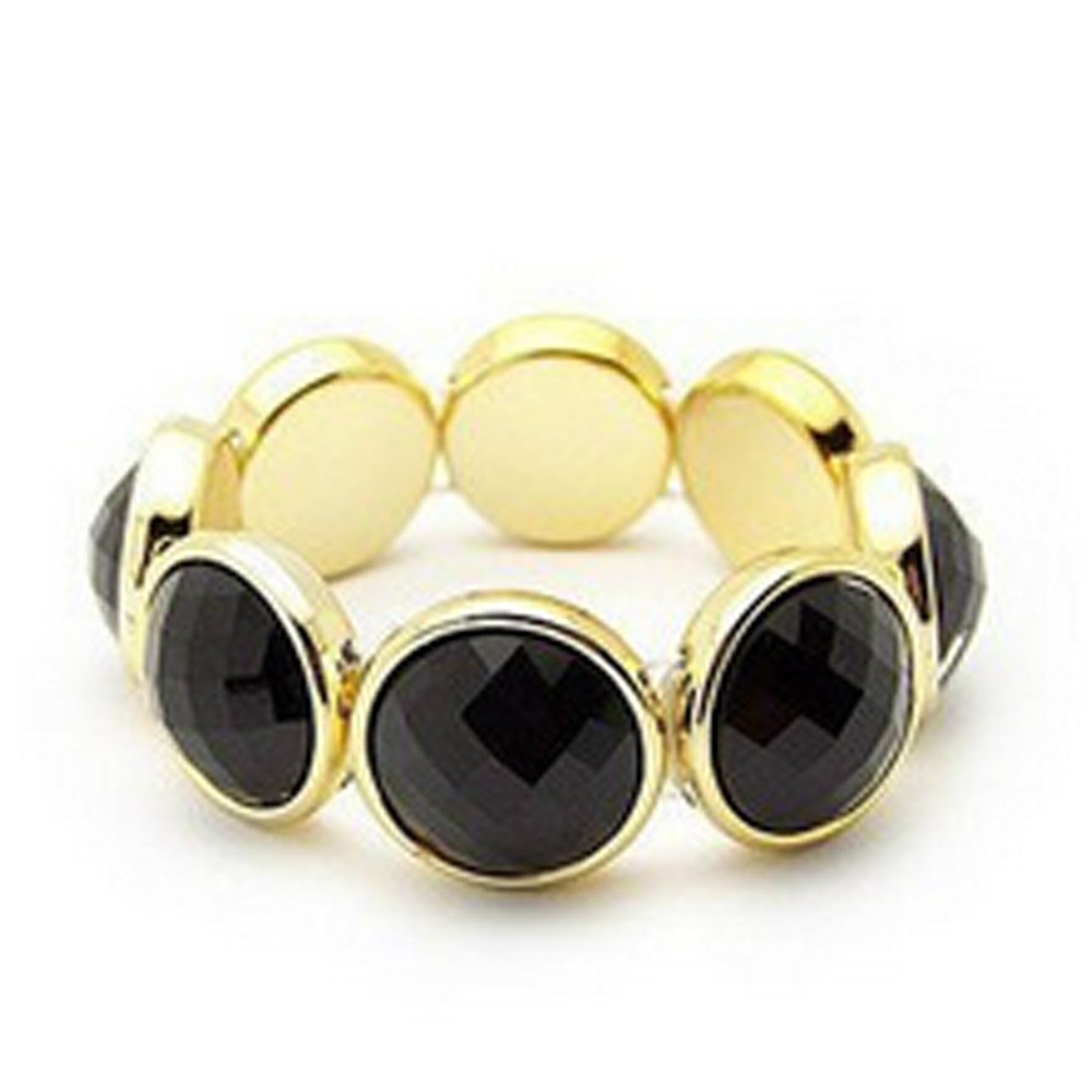 Womens Vintage Antique Ladies Accessories Diamante Beads Bracelet Bangle