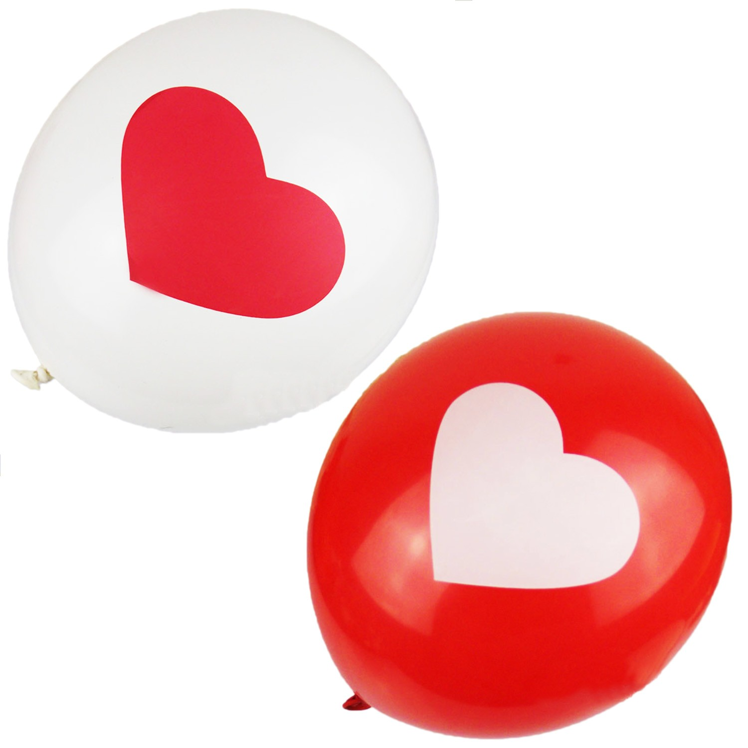 Party Heart Print Balloons Bulk 12 inch - BL11#