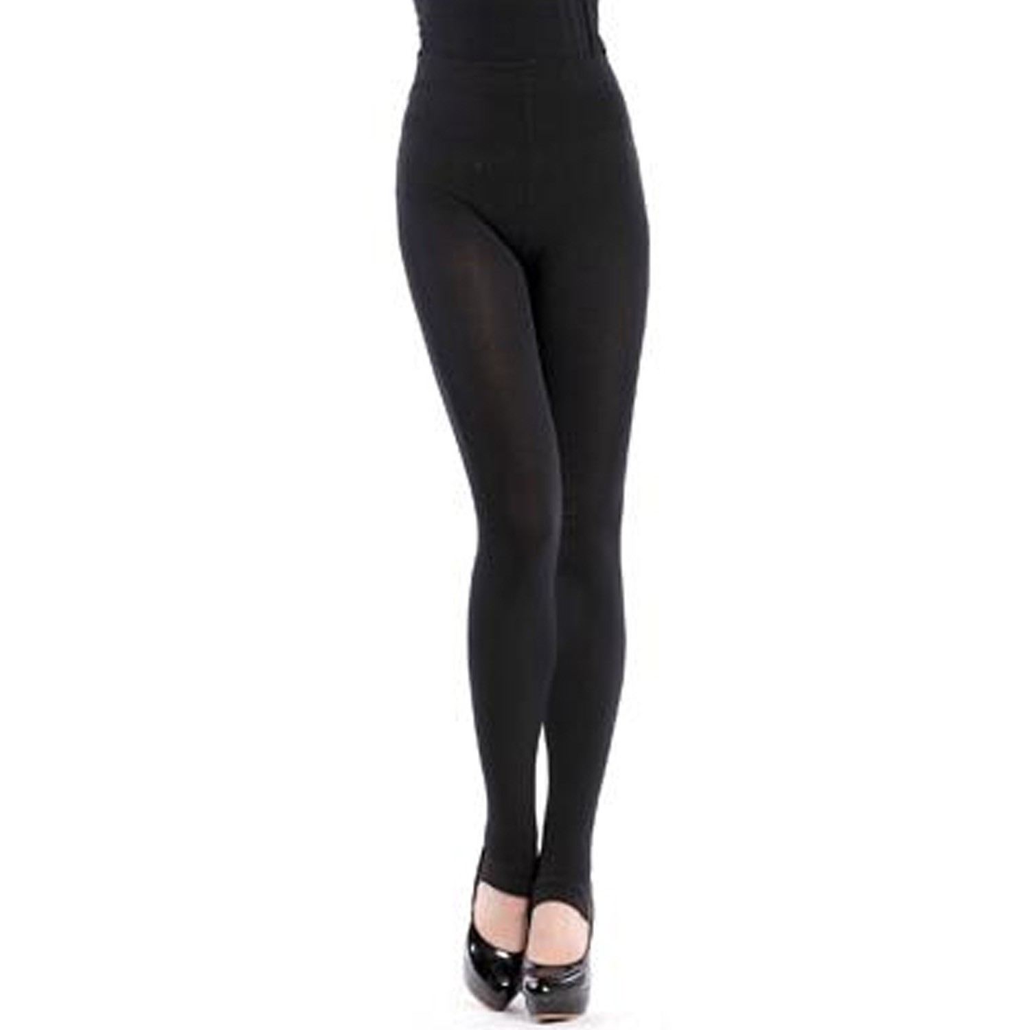 Cotton Stirrup Leggings - G7053#