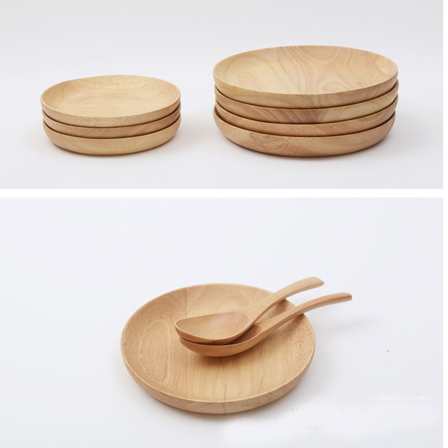 Small Wooden Bowls | Salad and Fruit Bowls | English Timbers |Small Wooden Bowls Saucers