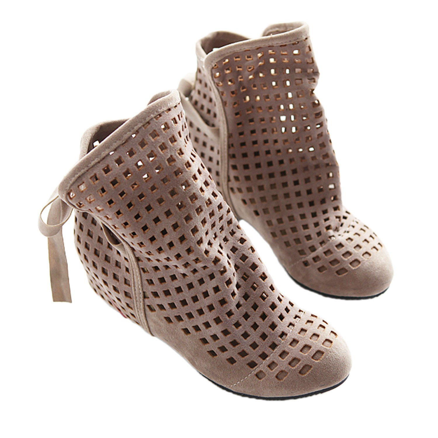 Vintage Ladies Womens NEW Spring Flat Ankle Summer Boots ...